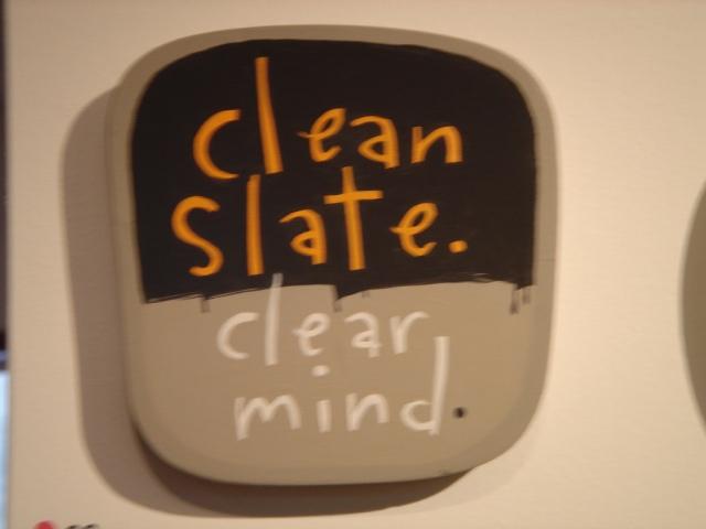 clean-slate-clear-mind